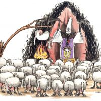 Sheep to church